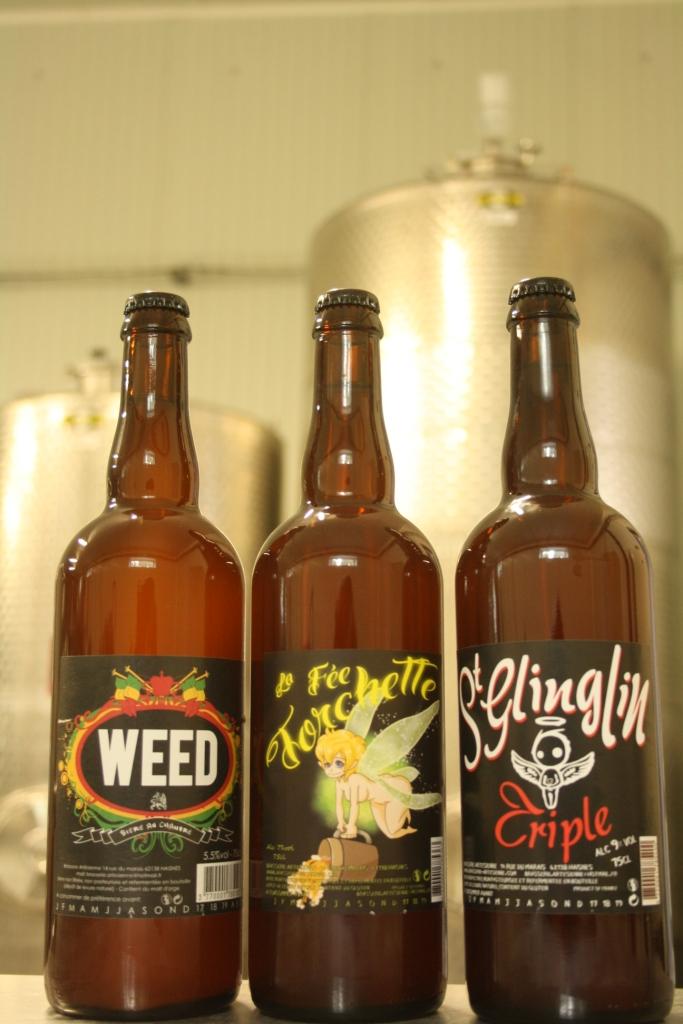 3 bouteilles de biere 3 brasserie artesienne kit a biere biere sans gluten a facon jpg 1